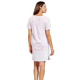 Rösch 1203049-11732 Women's Smart Casual Soft Pink Flowers Floral Nightdress