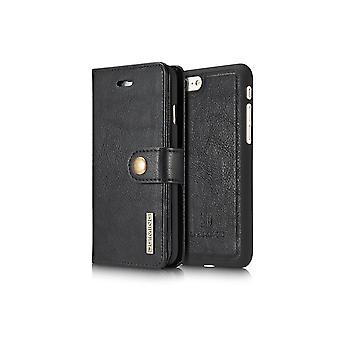 Case For Iphone Se (2020) / IPhone 8 / IPhone 7 Black Wallet With Magnet Shell