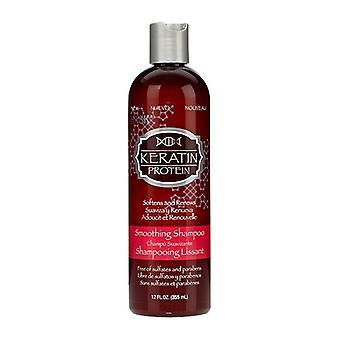 Moisturizing Shampoo Keratin Protein HASK (355 ml)