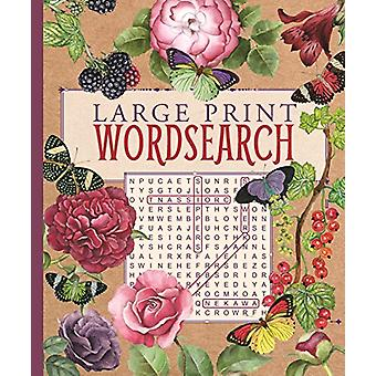 Large Print Wordsearch by Arcturus Publishing - 9781788287180 Book