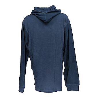 NFL Women's Top X Dallas Men's Long Sleeve Thermal Hooded Blue A296456