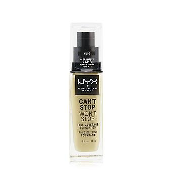 Can't stop won't stop full coverage foundation # naakt 248183 30ml/1oz