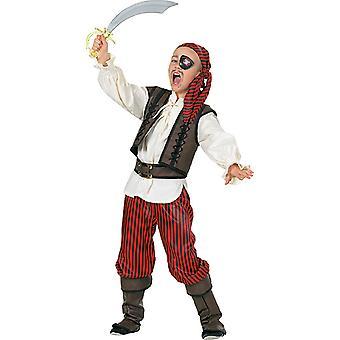 Luxus Pirat Kinder Kostüm Junge Seefahrer Karneval