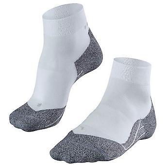 Falke Running 4 lette korte sokker - hvid mix