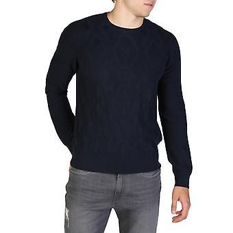 Man short round neckline sweater ae34935