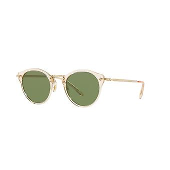 Oliver Peoples OP-505 SUN OV5184S 1094/52 Buff/Green Sunglasses