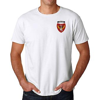 Afghanistan Commando spesialstyrker brodert Logo - bomull T skjorte