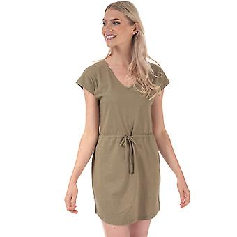 Women's Jacqueline de Yong Pastel Life V-Neck Dress in Green