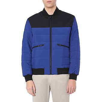 Z Zegna Vu013zz025110 Herren's blau/schwarz Polyester Outerwear Jacke