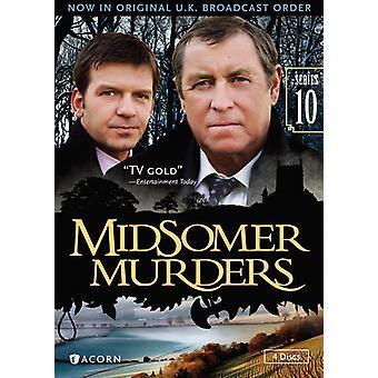 Midsomer Murders: Serie 10 [DVD] USA importeren