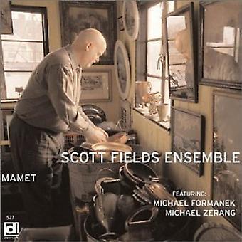 Conjunto de Scott Fields - importación de USA de Mamet [CD]