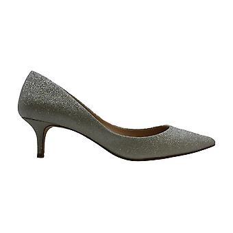 Jewel Badgley Mischka Women's ROYALTY Shoe, Silver Glitter, 10 M US