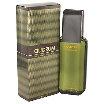QUORUM de Antonio Puig Eau De Toilette Spray 3.4 oz/100 ml (hommes)