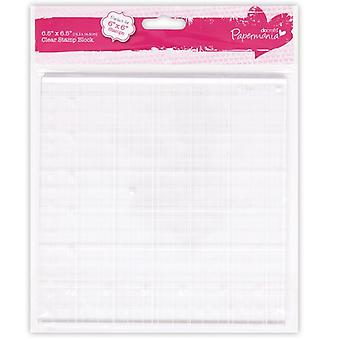 Papermania Clear Stamp Block 16,5 x 16,5 cm