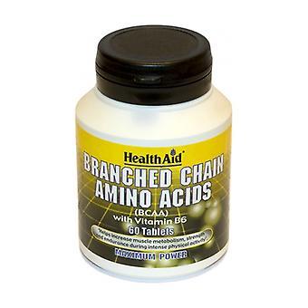 Bcaa haaraketjuiset aminohapot 60 tablettia