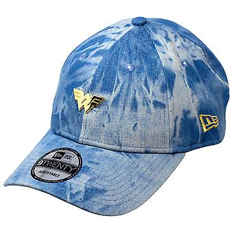 Wonder Woman 1984 Movie Logo Denim 9Twenty Regolabile Nuovo Era Cappello
