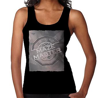 The Crystal Maze Silver Tone Women's Vest