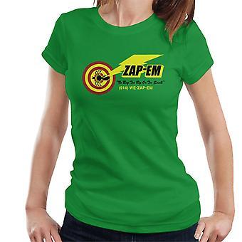 Men In Black Zap Em Logo Women's T-Shirt