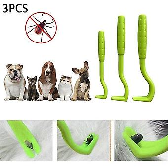 Fleas Lice Pet Supplies Tick Remover -tool For Dog Cat Cleaner Tweezers Puppies