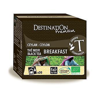 Engels Black Tea Breakfast 20 eenheden van 2g