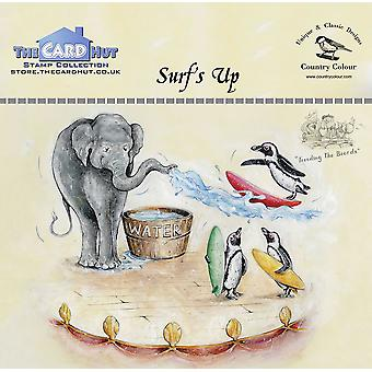 The Card Hut Surf's Up Clear Stamps