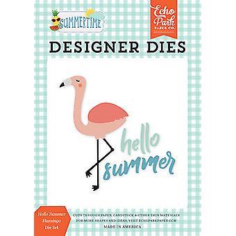 Morre Echo Park Hello Summer Flamingo