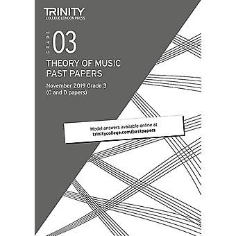 Trinity College London Theory Past Papers Nov 2019 Grade 3 by College London & Trinity