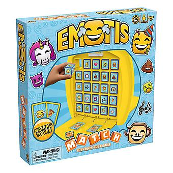 Emotis Top Trumps Match - The Crazy Cube Game