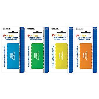 2241-144, BAZIC Magnetic Whiteboard Eraser w/ Foam Comfort Grip Case of 144