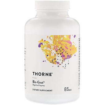 Thorne Research, Bio-Gest, 180 Capsules