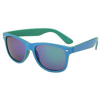 Aurinkolasit Unisex peili lasi sininen / vihreä (AZ-14-126)