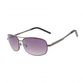 Gafas de sol óvalo hombres violeta/antracita (20-241)