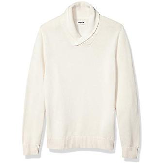 Marke - Goodthreads Men's weiche Baumwolle Schal Pullover, Vintage weiß XXX...
