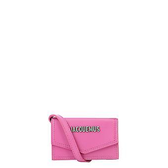 Jacquemus 206sl05206300540 Heren's Roze Lederen Koppeling