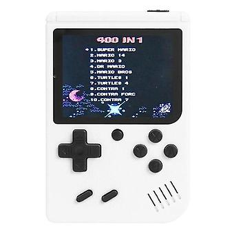 3.0 Inch Handheld Video Games Console Built-in 400 Retro Classic Game Portable Pocket 8-Bit Gaming Player Gamepads for Kids Gift