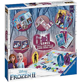 Ravensburger Frozen 2, 6 in 1 Games Box