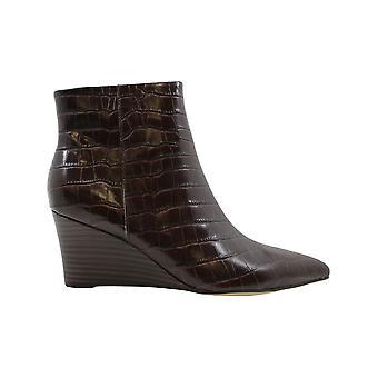 Nove Mulheres Ocidentais Carter Amêndoa Dedo tornozelo botas de moda