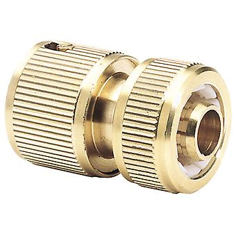 """Draper Expert 36199 Brass 1/2"""" Garden Hose Connector"""
