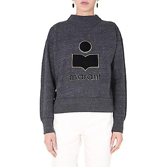 Isabel Marant ÉToile Sw003320a054e02an Women's Grey Cotton Sweatshirt