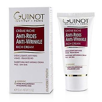 Crème riche antirides (pour peau sèche) 50ml ou 1.7oz