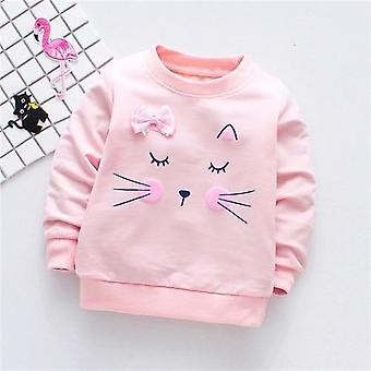 Girls T-shirts Long Sleeve Autumn Casual Tops Clothes