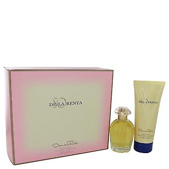 Dus De La Renta Gift Set Door Oscar De La Renta 3.4 oz Eau De Toilette spray + 6.7 oz Body Lotion