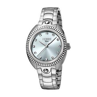 Ferre Milano Women's  FM1L088M0051 Light Blue Dial Stainless Steel Wristwatch