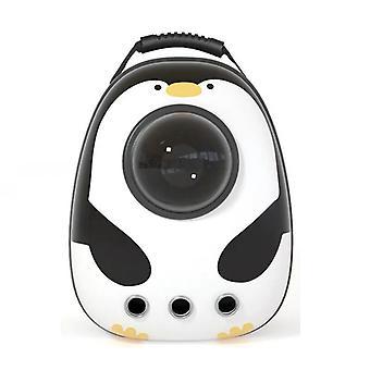 Penguin Transparent Travel Carrier Pet Backpack
