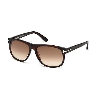 Tom Ford Olivier TF236 50P dunkelbraun/braun Farbverlauf Sonnenbrille