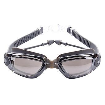 نظارات سباحة سيليكون المهنية، ومكافحة الضباب نظارات السباحة فوق البنفسجية مع