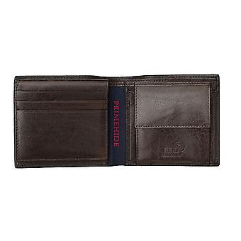 Primehide Premium Mens Portefeuille en cuir RFID Bloquant Gents Porte-carte 5402