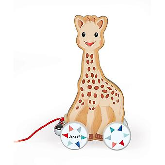 Sophie The Giraffe Pull-Along Wooden Toy