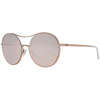 Emporio Armani Rose Gold Women Sunglasses