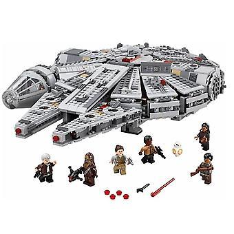 Star Wars Millennium-falcon Spacecraft Building Blocks